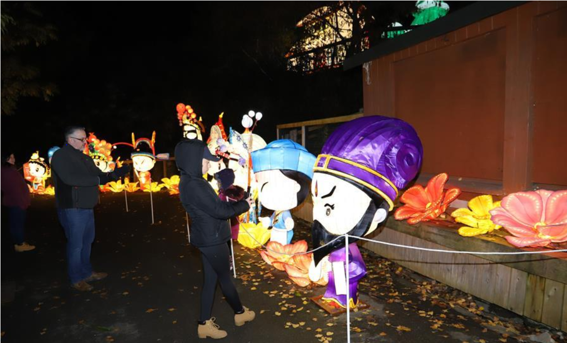China-made lanterns draw huge audience in Dublin