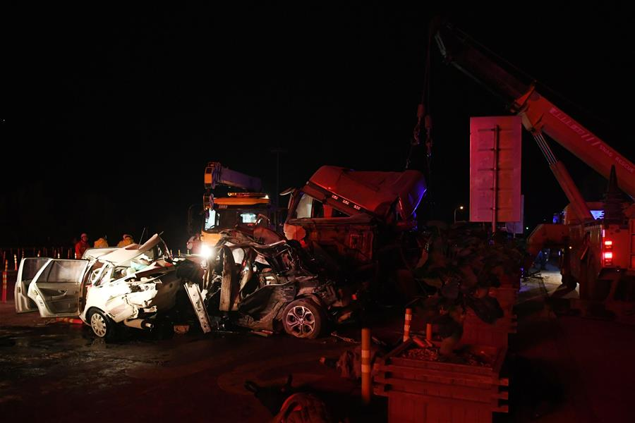 Truck driver behind Lanzhou highway accident detained