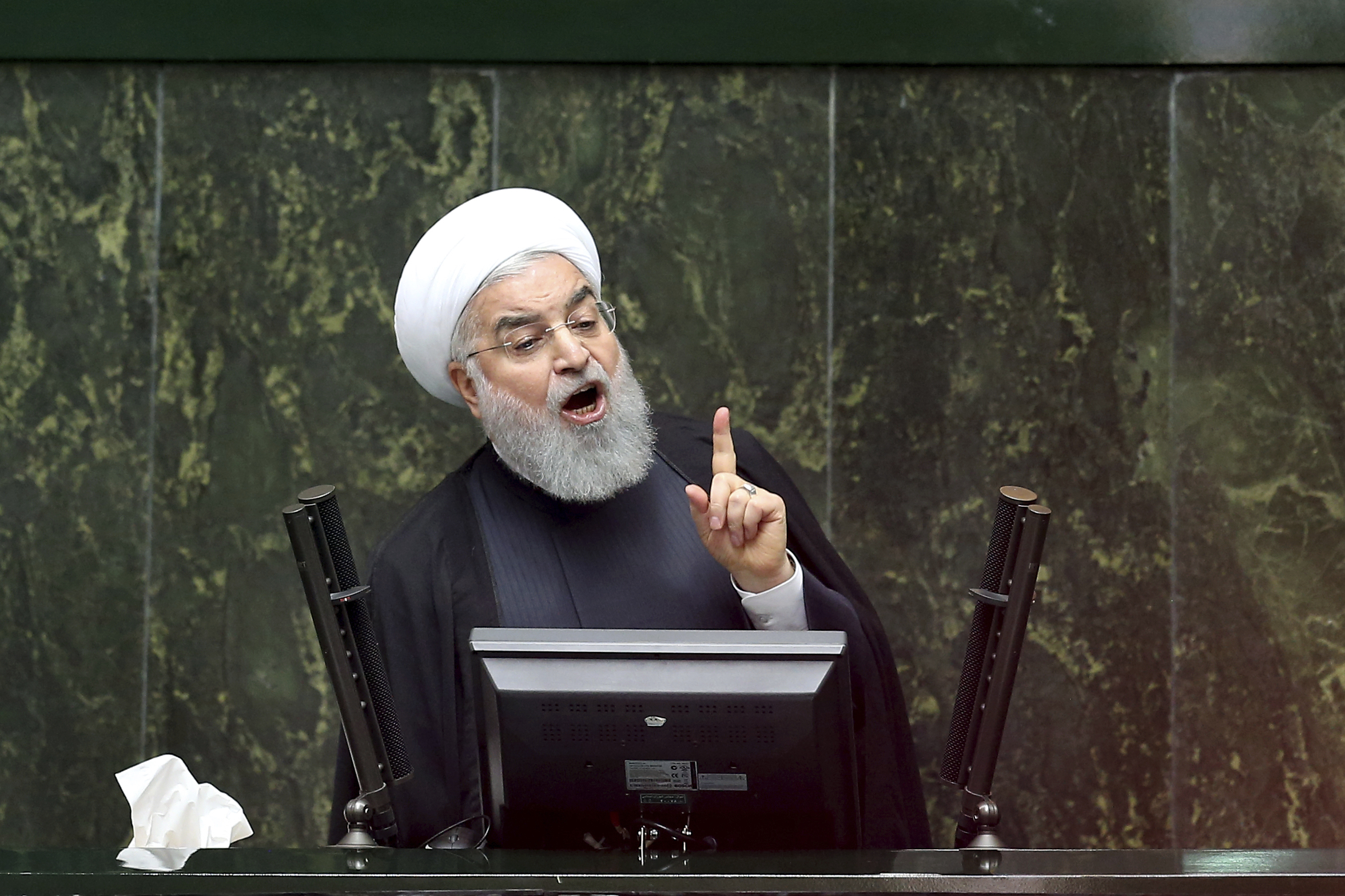 Iran will 'proudly bypass' US sanctions: Rouhani