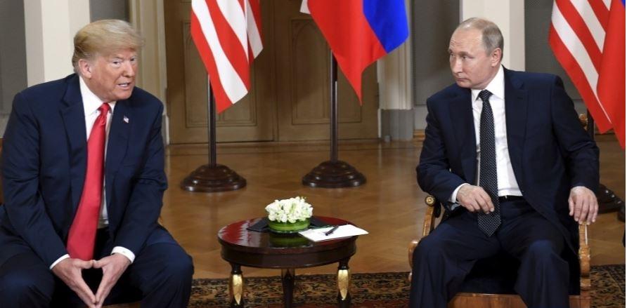 Trump says not sure if he will meet Putin in Paris