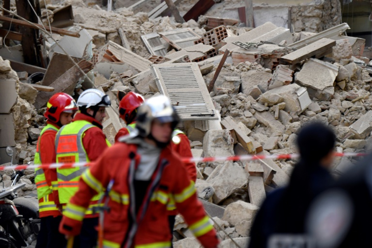 Ten reported missing after two buildings collapse in southern France