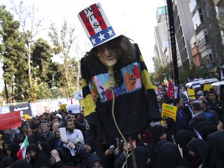Trump administration Iran sanctions take effect