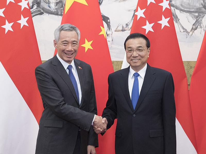Chinese premier to visit Singapore