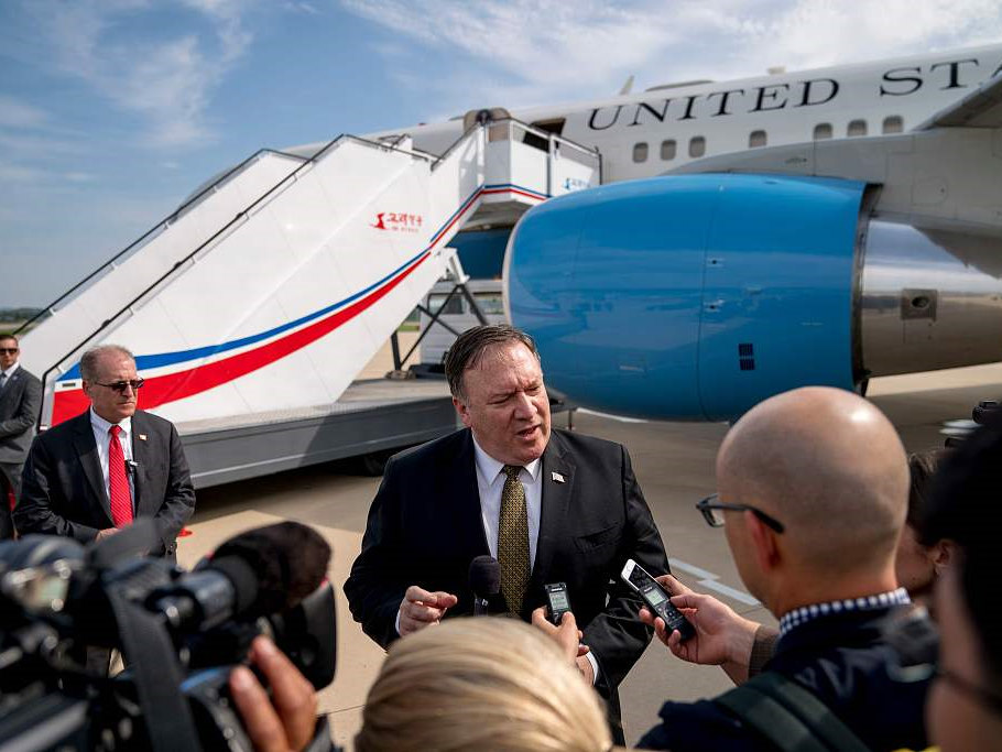 Pompeo to meet senior DPRK official in New York