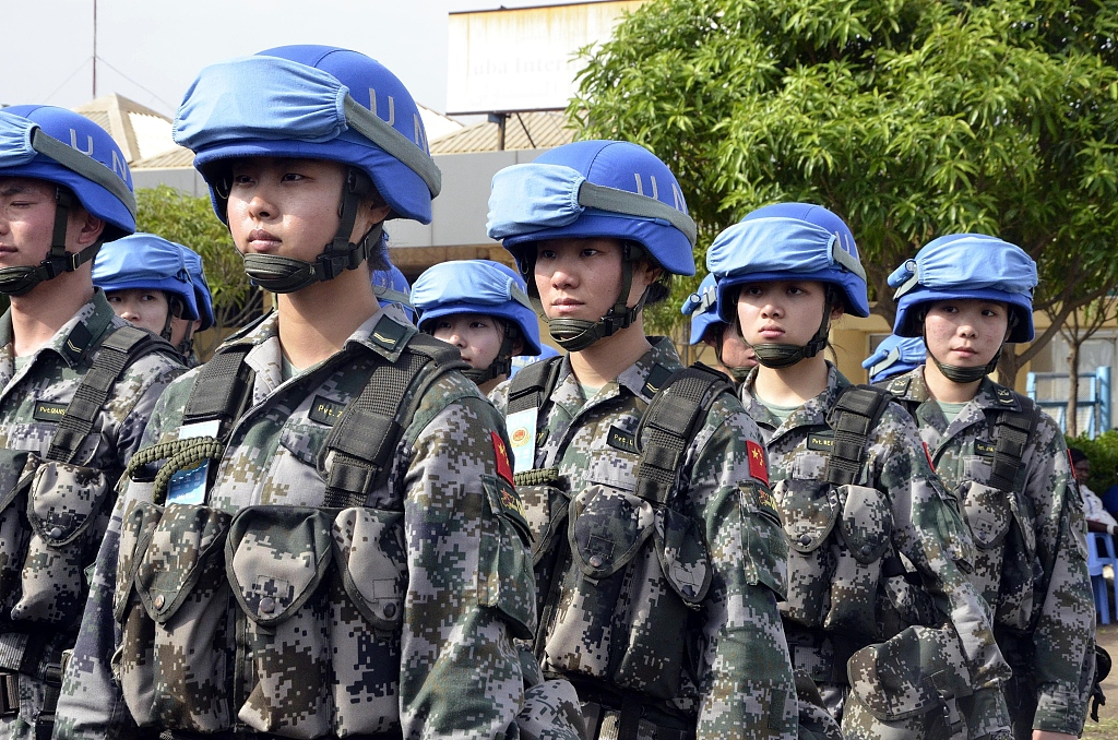 UN peacekeeping official says more women officers needed in UN Police