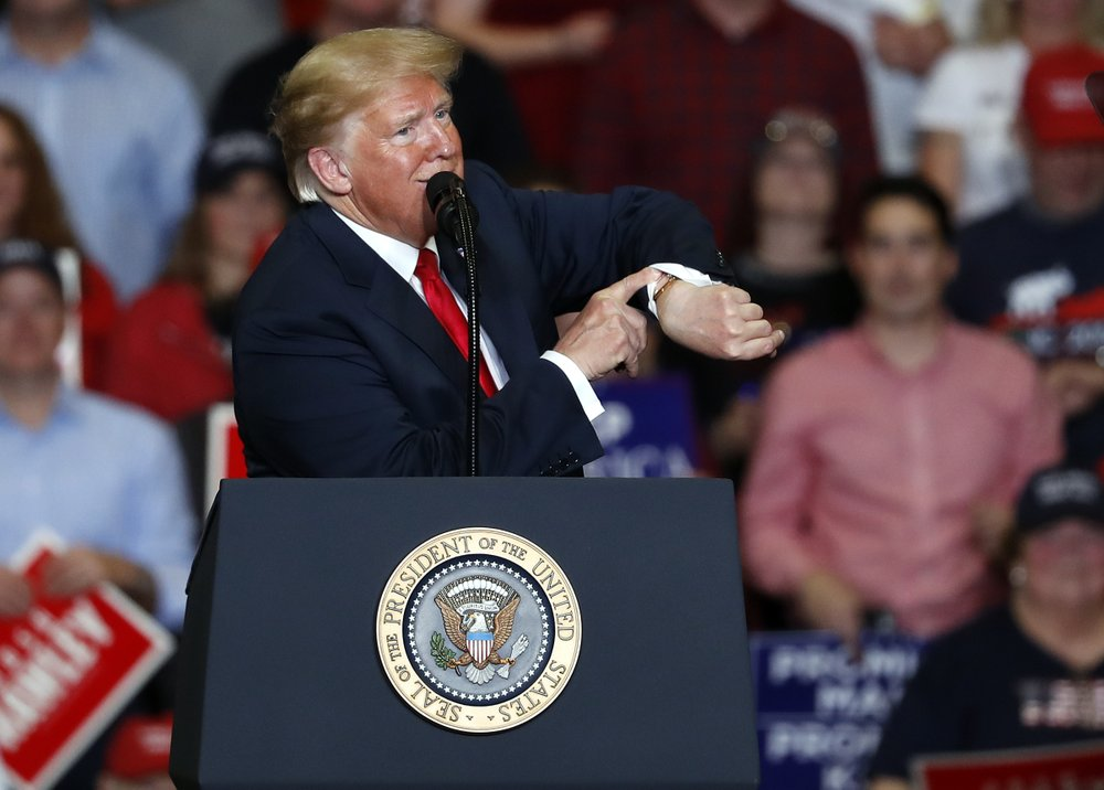 Trump celebrates GOP gains, threatens House Democrats