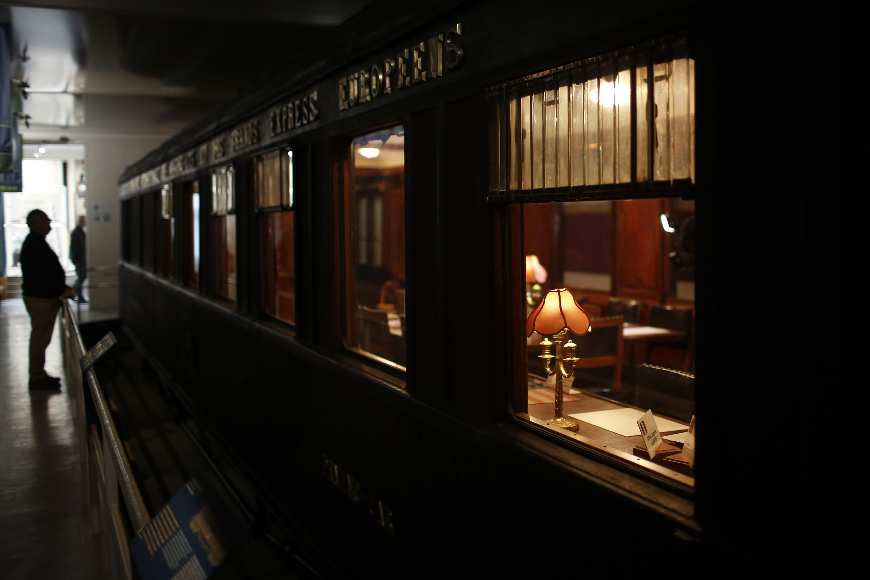 Hitler in war, Merkel in peace: A train car for history