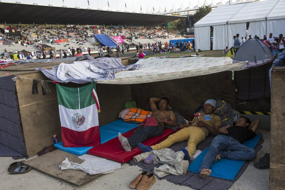 Migrants weigh whether to stay in Mexico or trek to US