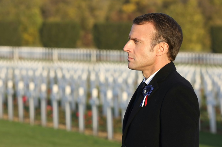 Macron stokes anger by calling Petain 'great' WWI soldier