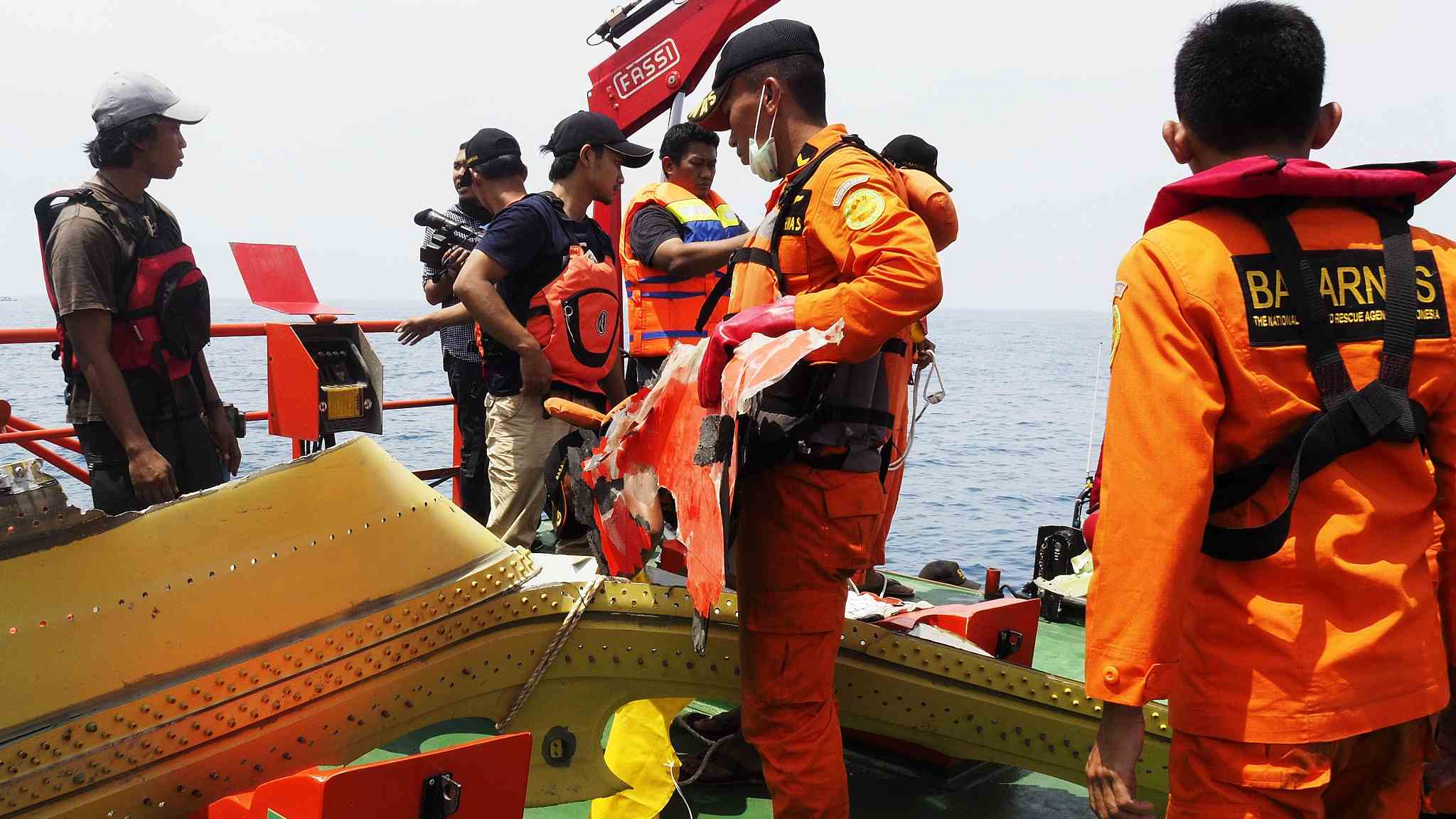 Indonesia transport safety agency reveals Lion Air plane problem prior to its crash