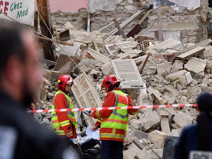 Death toll from buildings collapse in southern France reaches 5