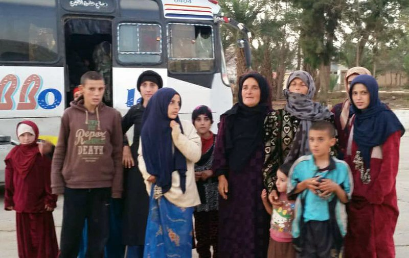 Syria says military freed 19 hostages held by IS since July