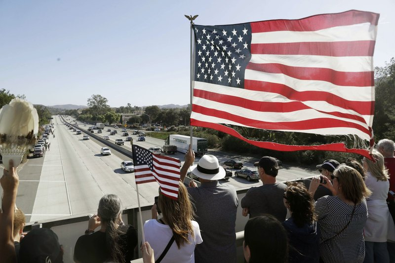 Incoming California governor condemns shootings