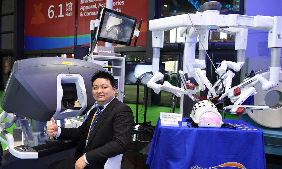 Medical Equipment, Health Care Products area at CIIE