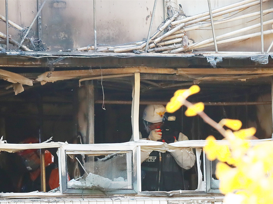 7 killed, 11 injured in S. Korean fire at dormitory-style housing