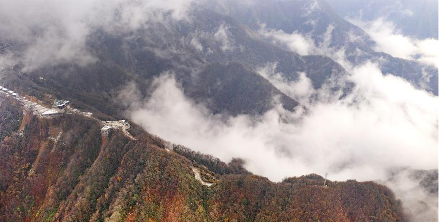 Scenery of Guiguling National Forest Park in China's Shaanxi