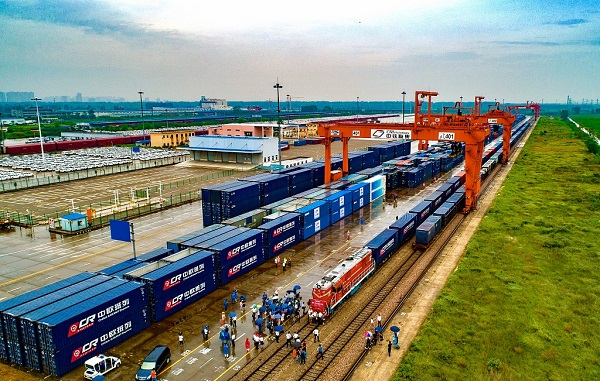 China Railway Express opens exclusive train for oranges to Europe
