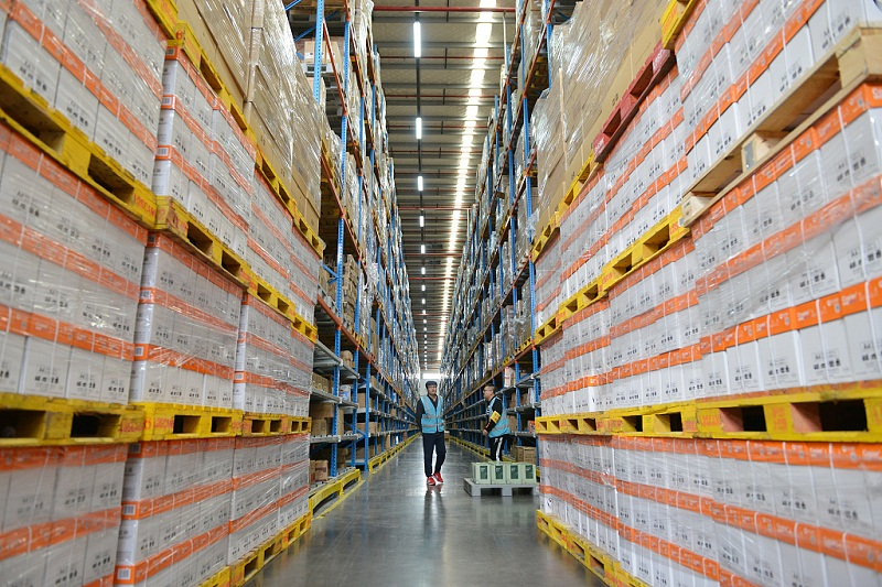 Warehouse workers prepare for Singles' Day Sales onslaught