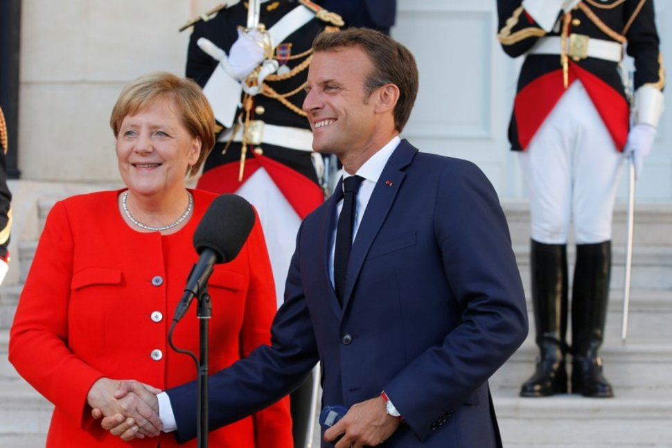 Macron and Merkel mark WWI armistice centenary
