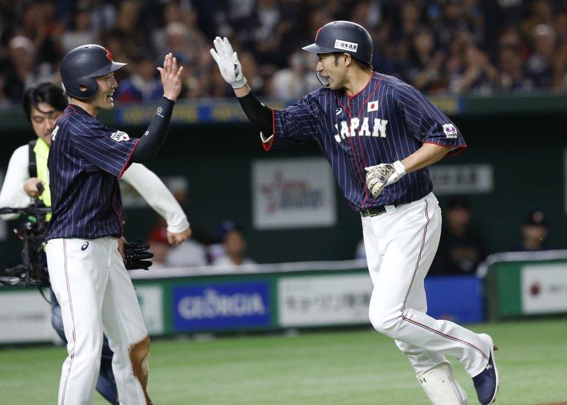 Japan beats MLB All-Stars 12-6 to take 2-0 series lead