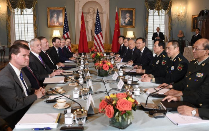 China, US highlight cooperation at new round of diplomatic, security dialogue