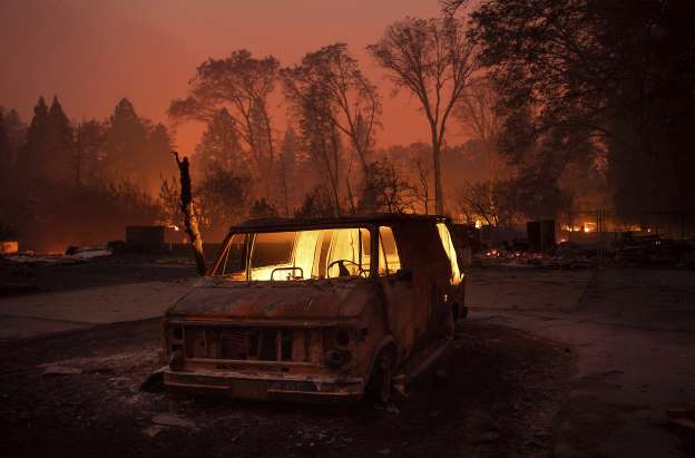 Death toll from California fire rises to 25: sheriff