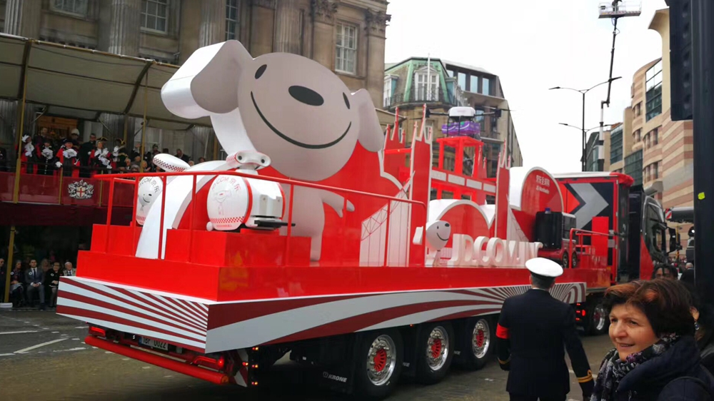 Chinese floats shine in the Lord Mayor's Show