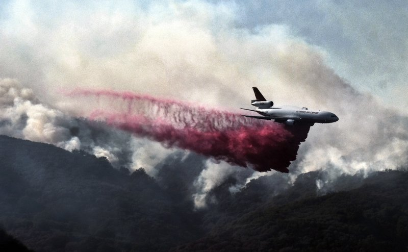 Southern California wildfire slows; 177 homes destroyed