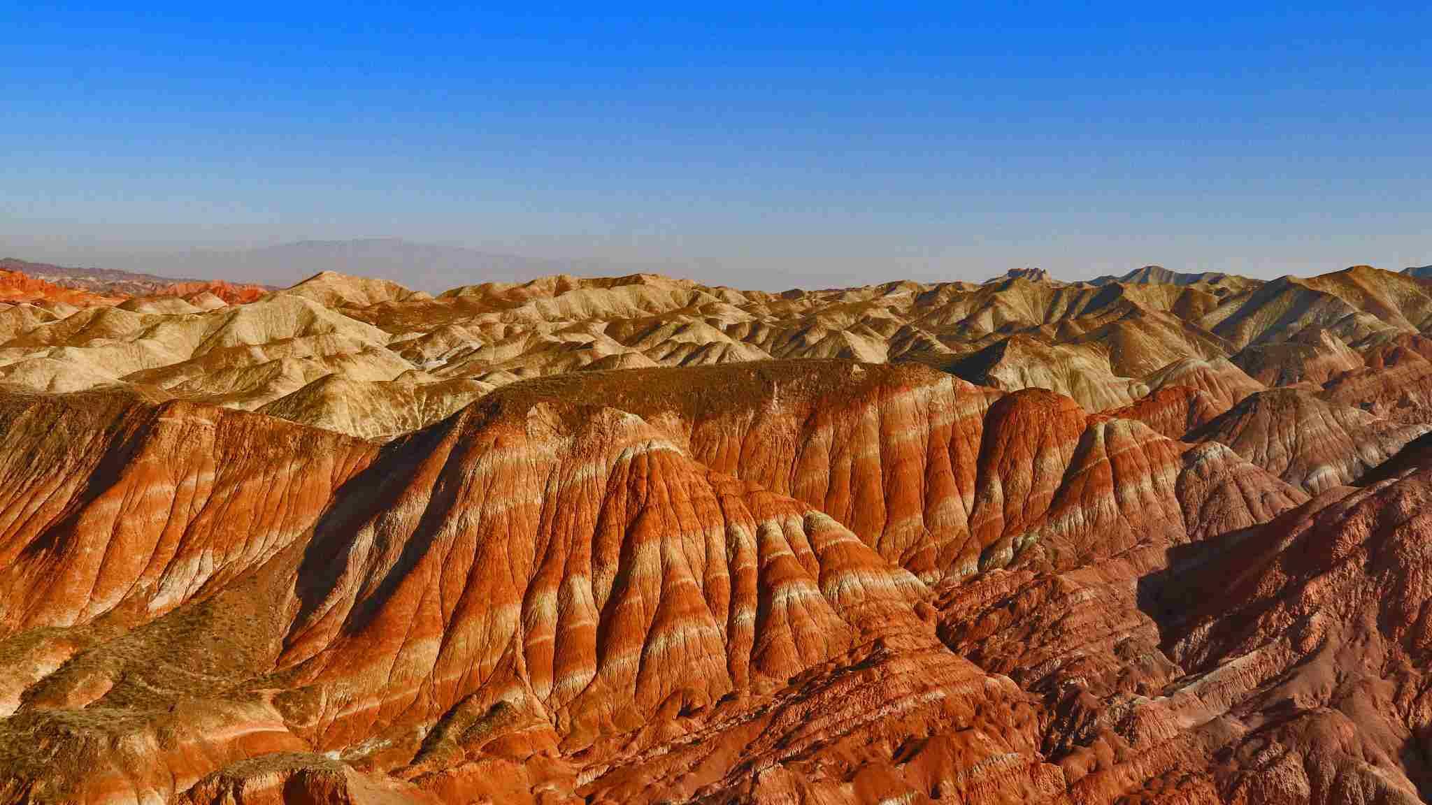 Stunning scenery of Danxia landform in NW China