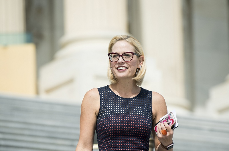 Democrat Kyrsten Sinema wins Arizona US Senate seat