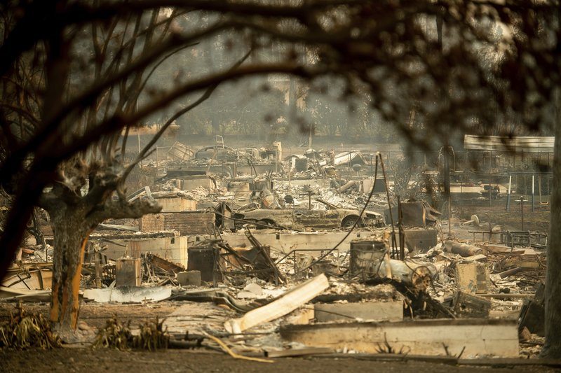 Death toll in N California wildfire jumps to 42