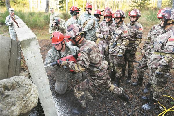 China, US begin joint humanitarian assistance drill in Nanjing