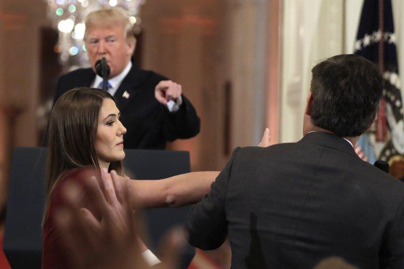 CNN sues Trump, demanding return of Acosta to White House