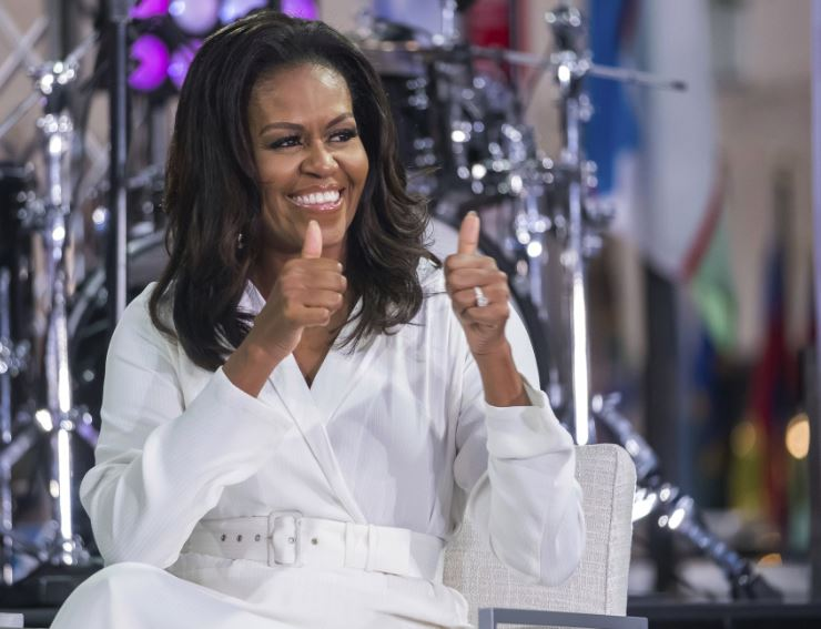 Michelle Obama's memoir 'Becoming' out, an instant hit