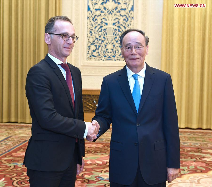 Chinese vice president meets German Foreign Minister