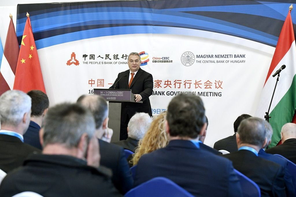 Orbán advocates strengthening China-CEE ties at central bank governors' meeting