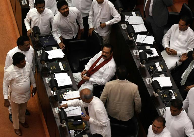 Sri Lanka parliament sacks Rajapakse, leaving power vacuum