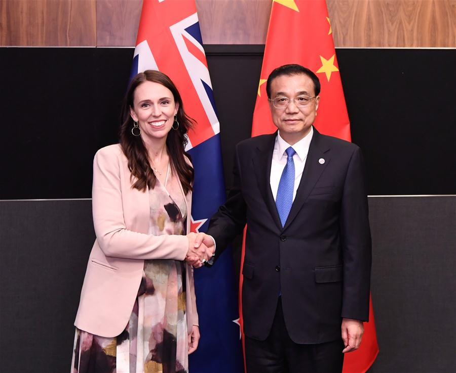 China, New Zealand to promote efforts on upgrading FTA