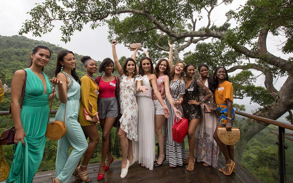 Miss World 2018 contestants gather in Sanya