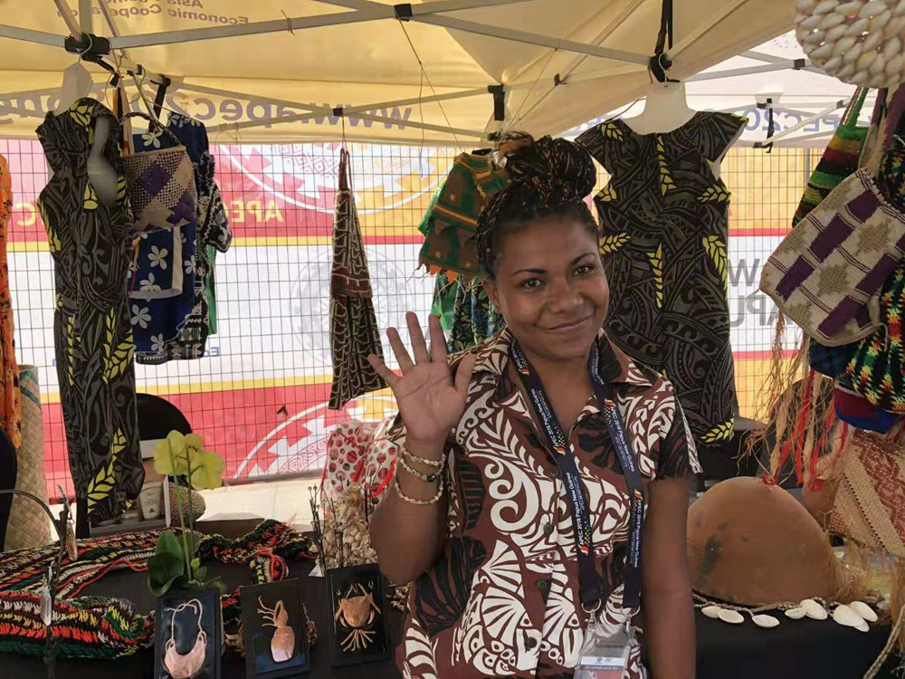 PNG holds exhibition of local products to greet APEC meeting
