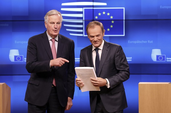 EU sets Nov. 25 as summit day to endorse Brexit
