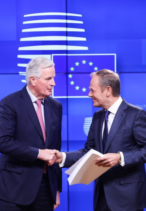 Tusk says EU to hold Brexit summit on Nov. 25 to finalize agreement