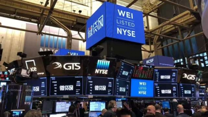 Chinese online lender Weidai makes NYSE debut