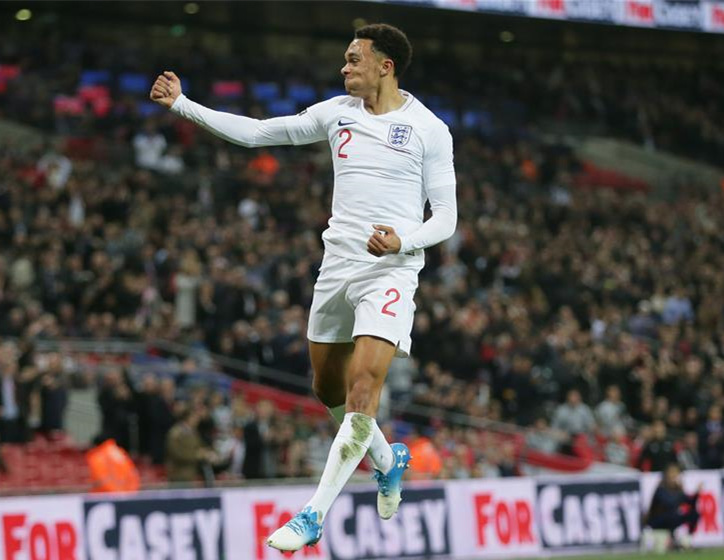 England beats US 3-0 at Int'l Friendly football match in London