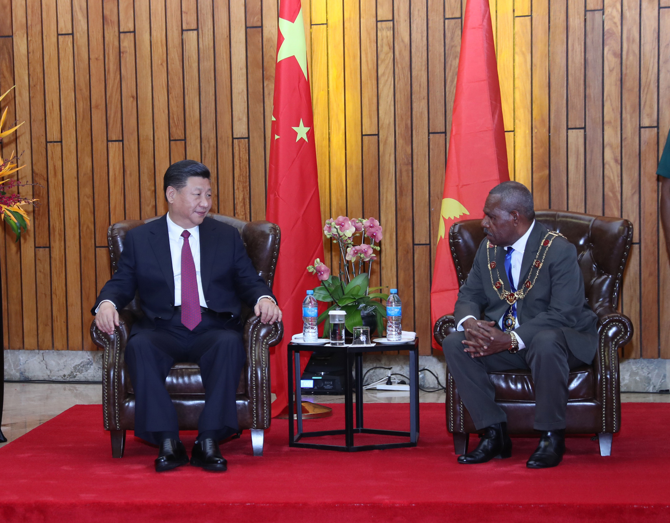 Xi seeks to boost China-PNG relations with maiden state visit