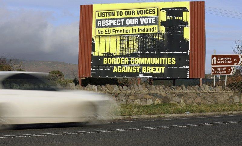 Near Irish border, the Brexit drama is followed with alarm