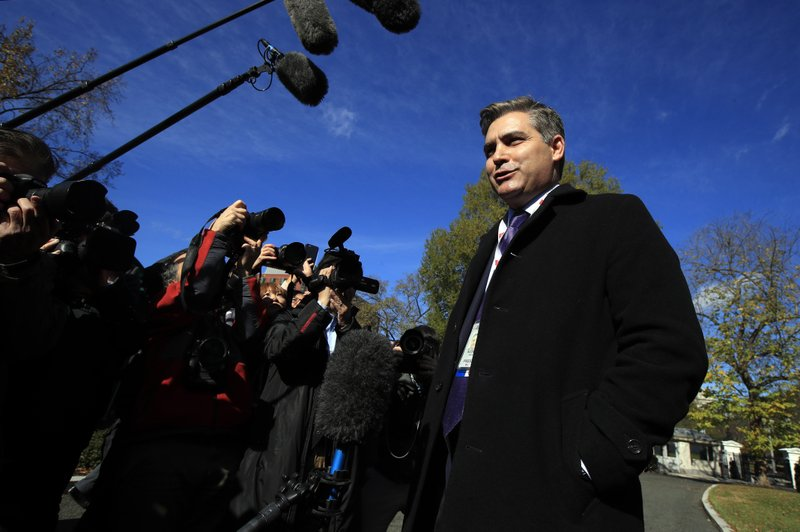 CNN's Acosta returns to White House after ruling