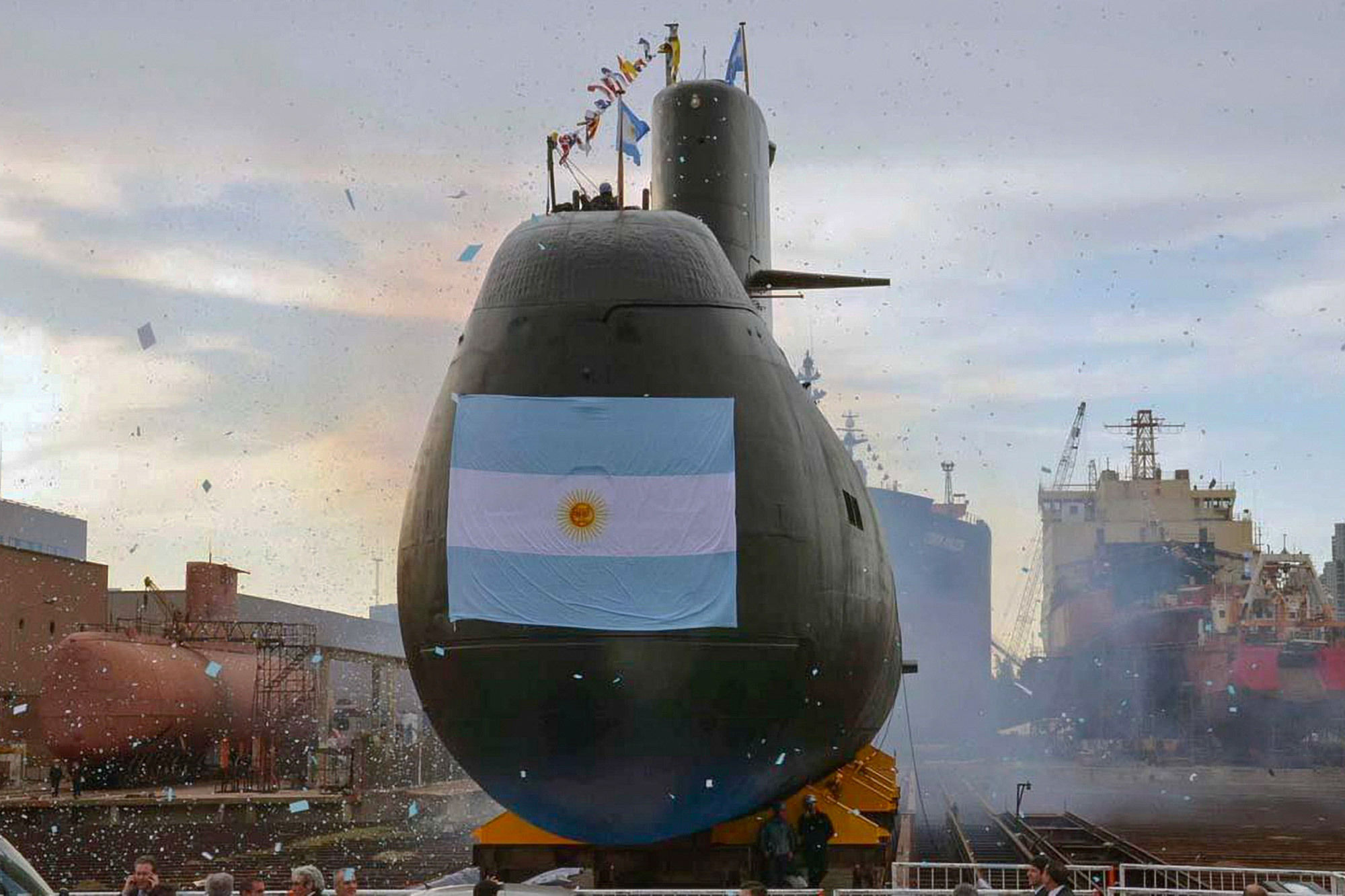 Argentine submarine found year after disappearance: official