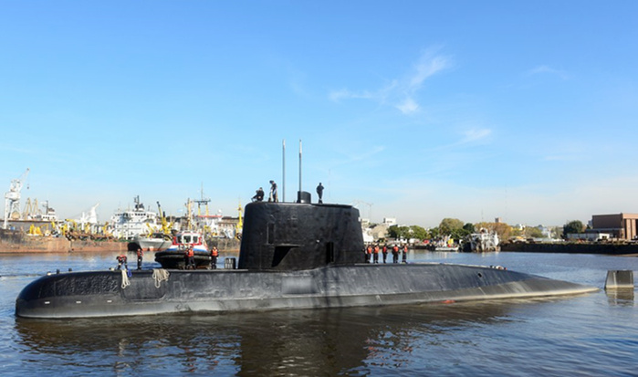 Argentine submarine located year after disappearance