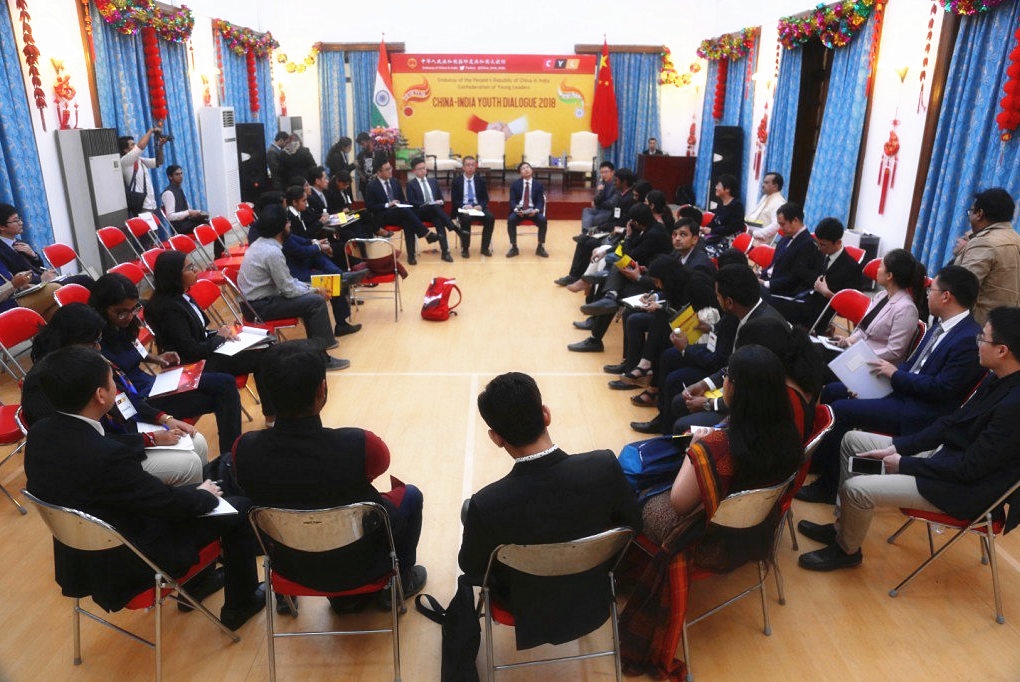 China-India youth dialogue held in Delhi to promote exchanges, ties